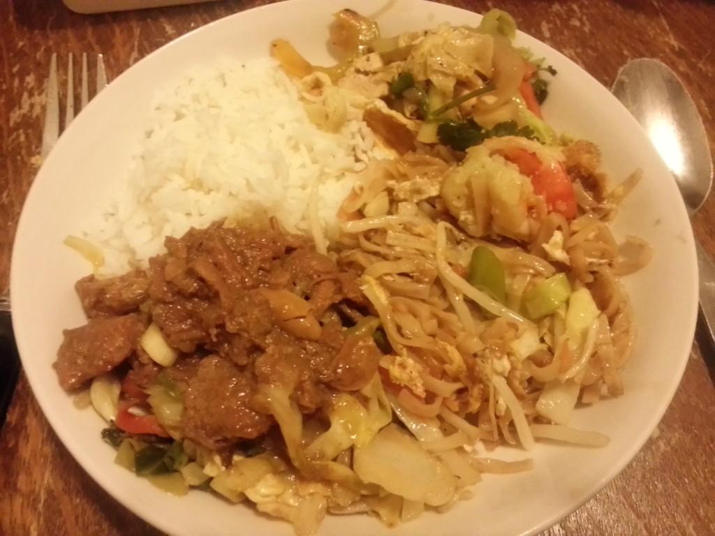 Eten gehaald bij de Thai :D