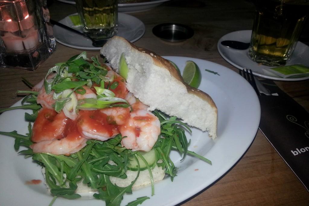 Eén van mijn favo BP broodjes; de shrimpster