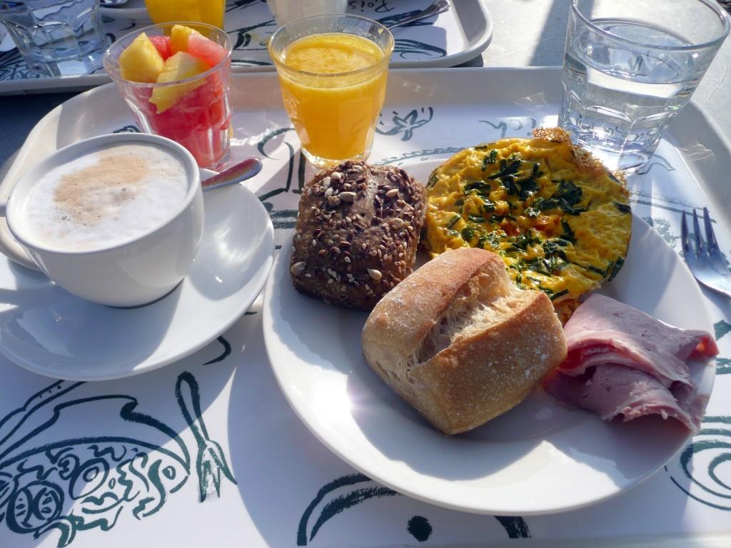 Ontbijten bij de V&D