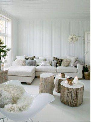 Wit met hout <3