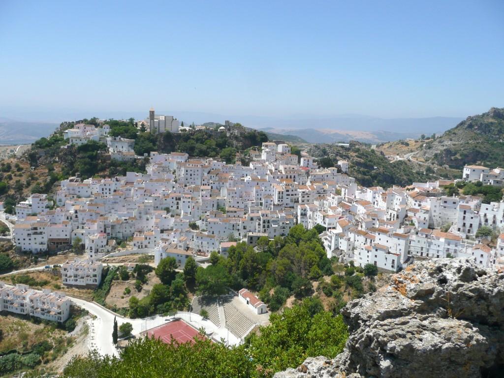 Casares, één van de idyllische witte dorpen