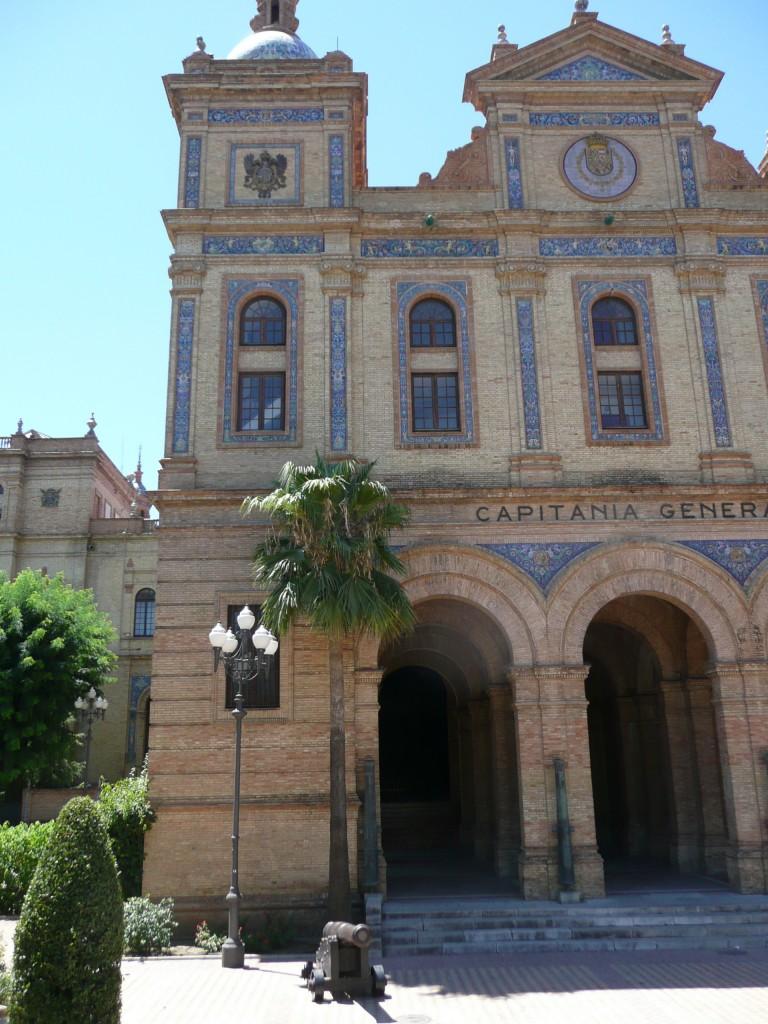 Prachtige gebouwen in Sevilla