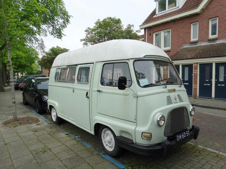 oude auto Amsterdam