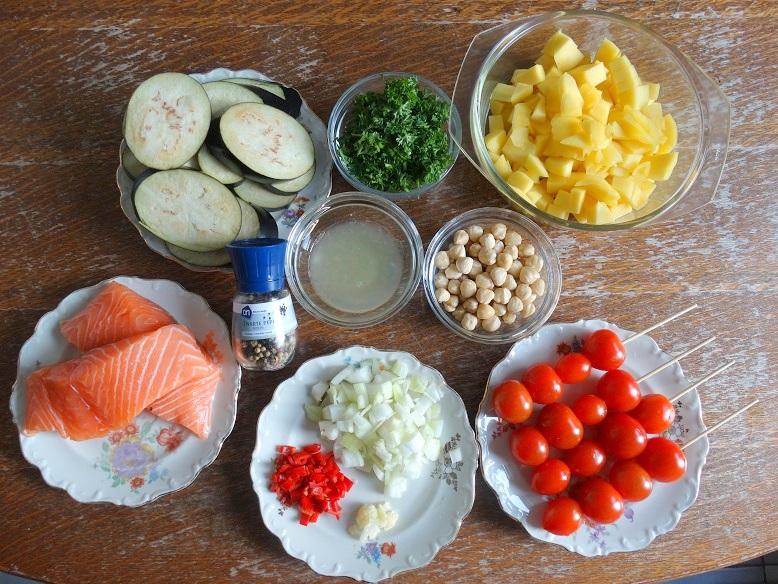 Recept Zalm mangosalsa Infrarette