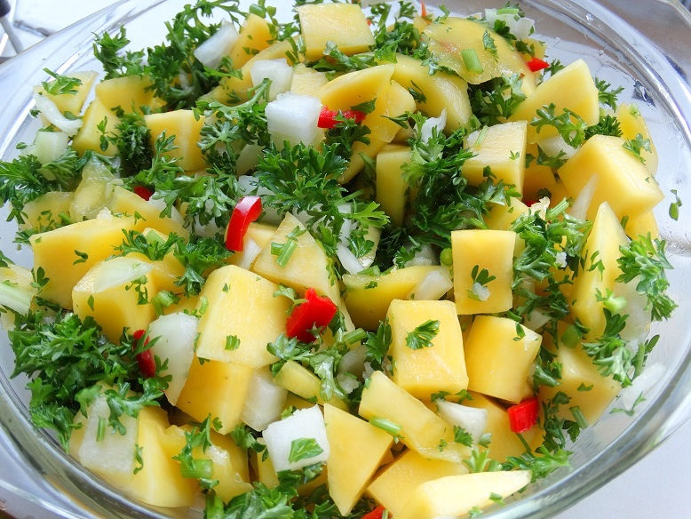 Mango salsa Infrarette recept