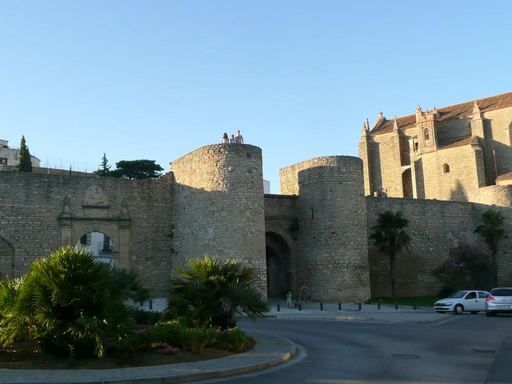 Roadtrip Andalusië, Ronda, Stadsmuur