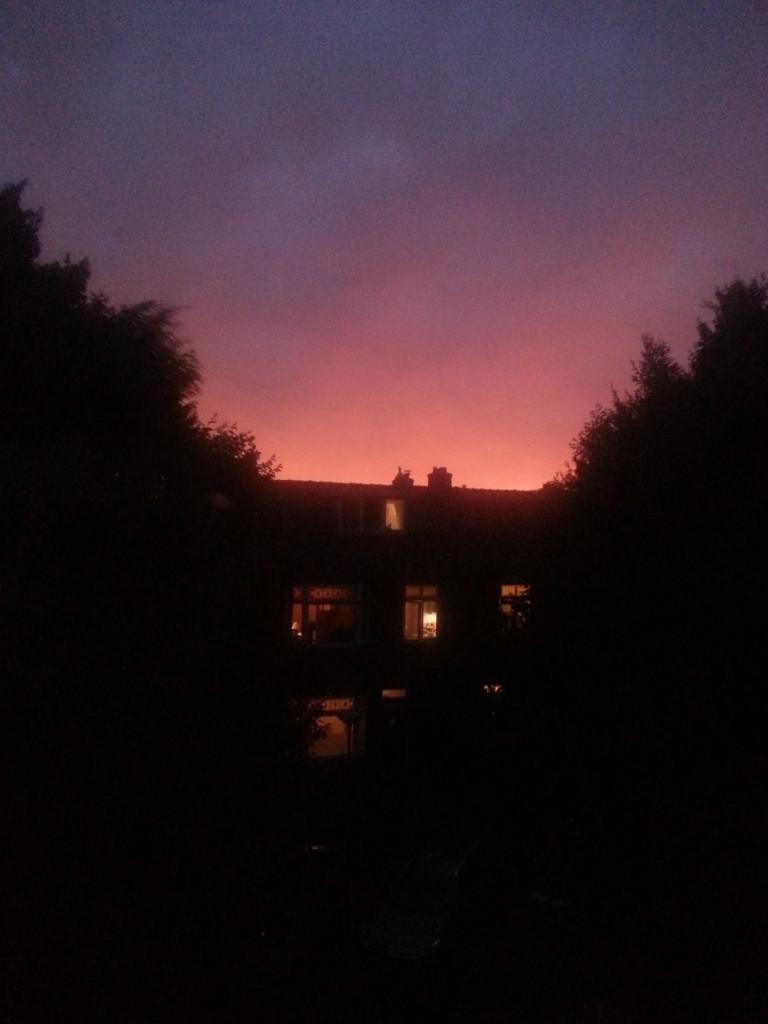 DIary sunset
