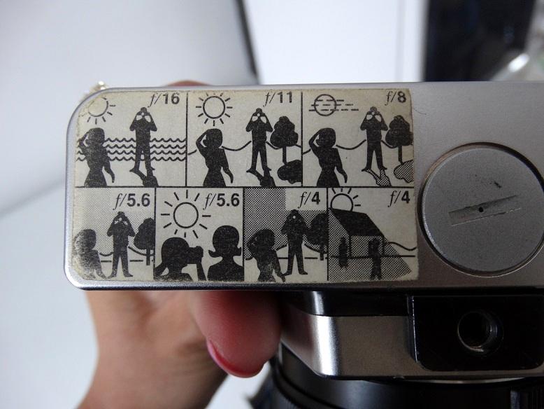 Vintage Diafragma camera