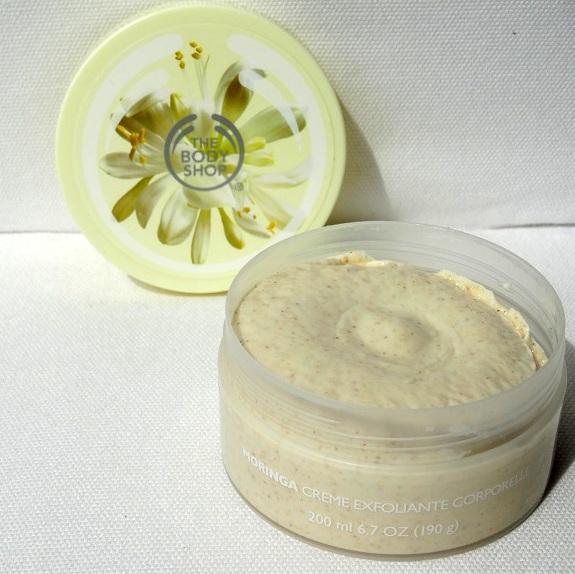 Moringa Cream Body Scrub, Winactie, The Body Shop