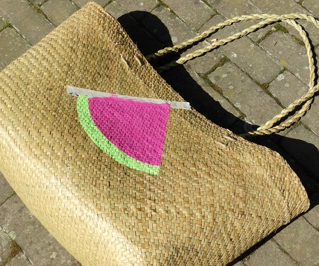 DIY Watermeloen tas Watermelon bag