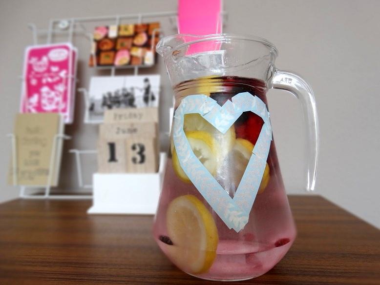 Diary water fruit
