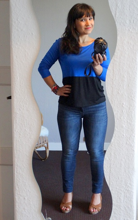 Diary OOTD Top Cubus Jeans Zara Armcandy Primark