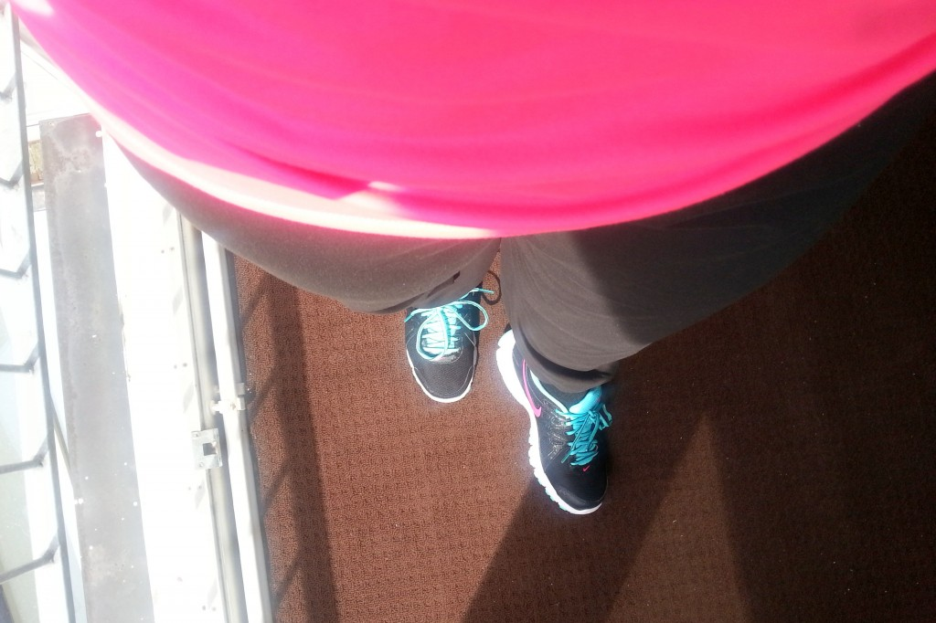 Diary gymday outfit