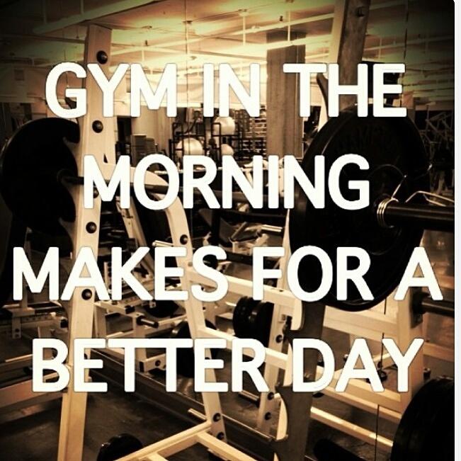 Diary gymday