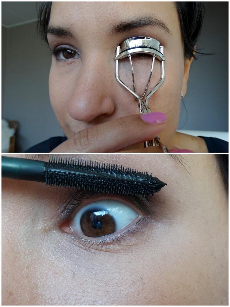 Mua look tutorial mascara