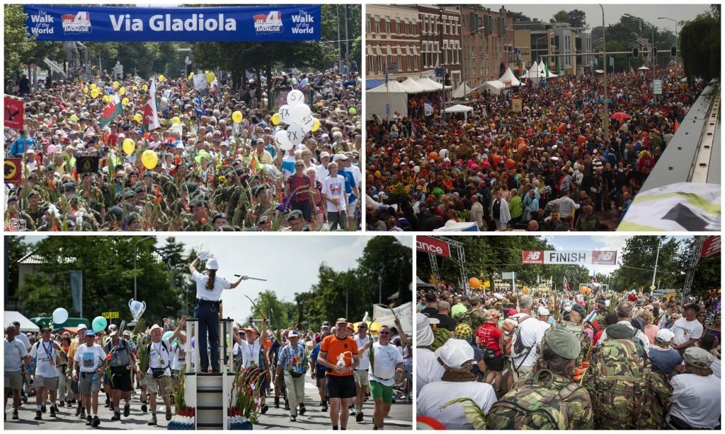 4 daagse Nijmegen wandelmars Via Gladiola
