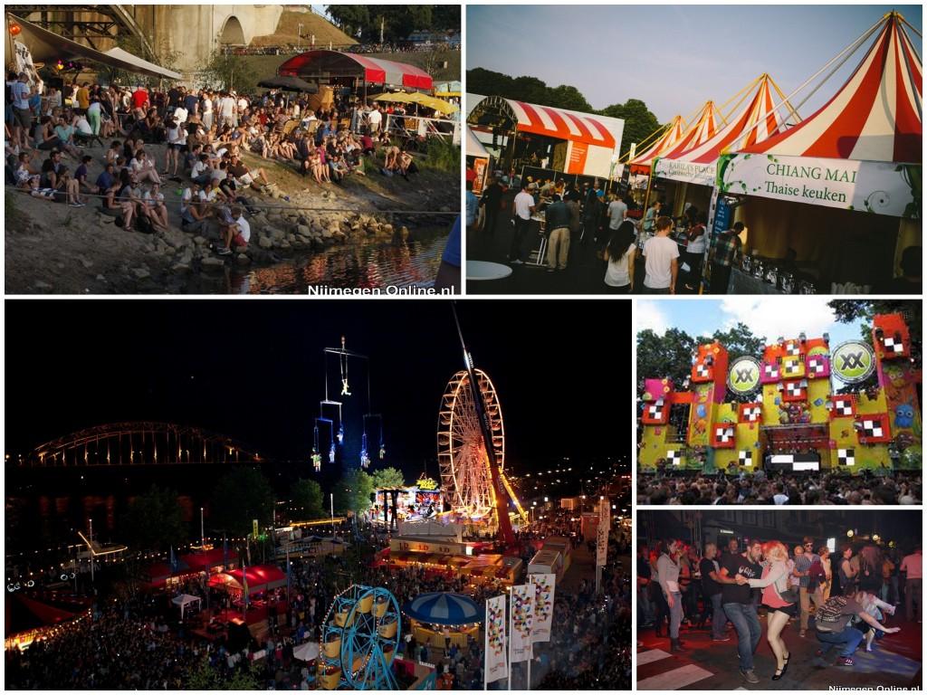 4 daagse feesten Nijmegen centrum