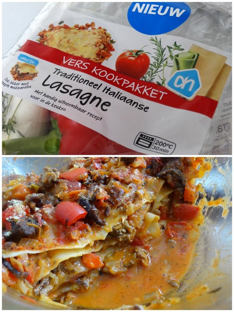 AH Lasagne vers kookpakket diary