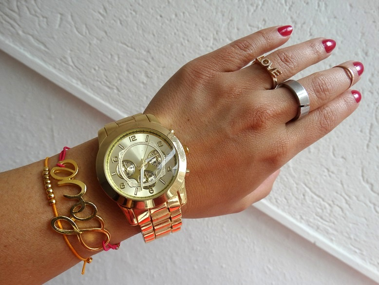 OOTD Pink arm candy