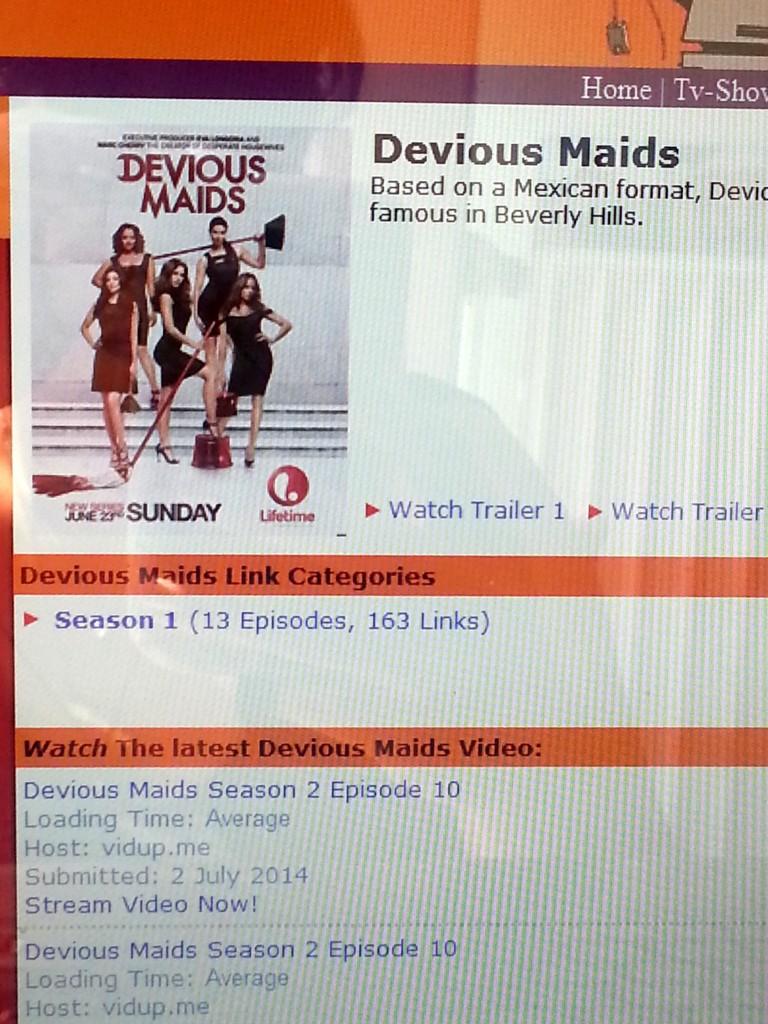 Diary Devious Maids