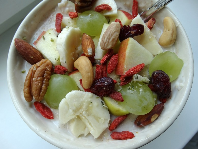Diary Lunch Oats Havermout Fruit Superfood