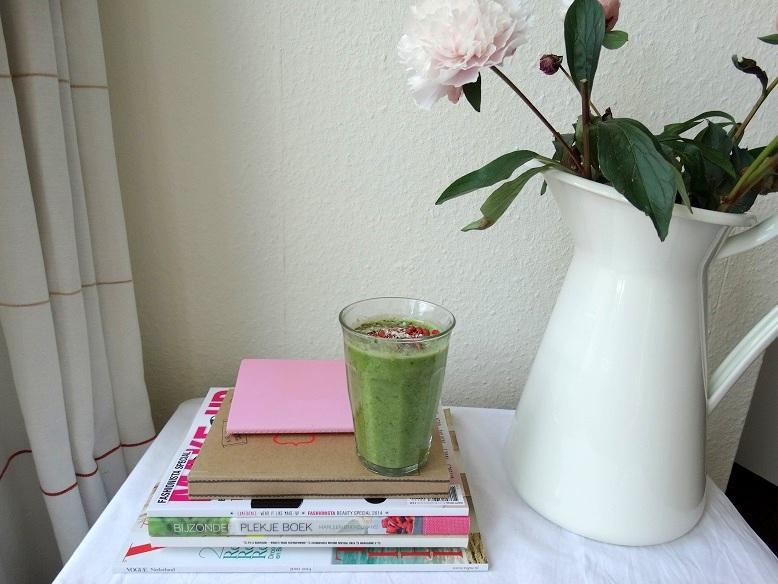 Diary Spinazieshake ontbijt