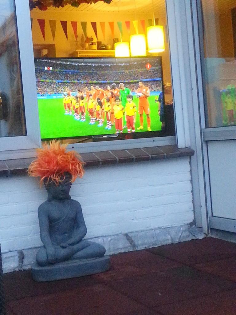 Diary WK 2014 Nederland Costa Rica Oranjekoorts