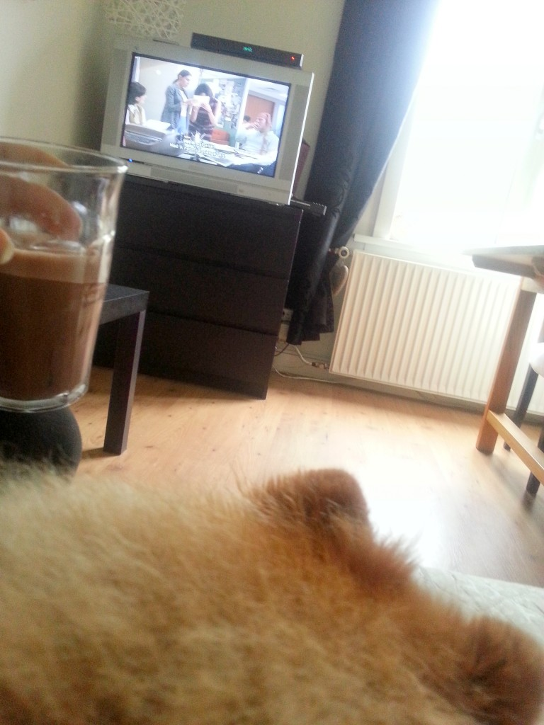 Diary break warme chocolademelk en Mad men