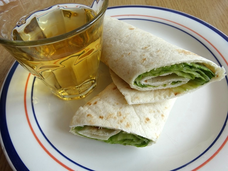 Diary lunch wrap
