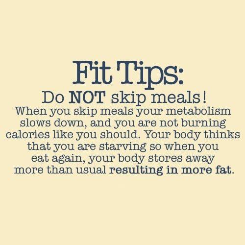 Eet regelmatig, gezond eten foodspiration
