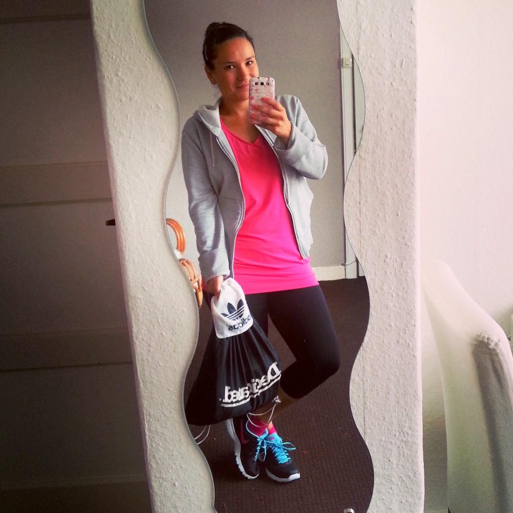 Gym day nike diary Adidas