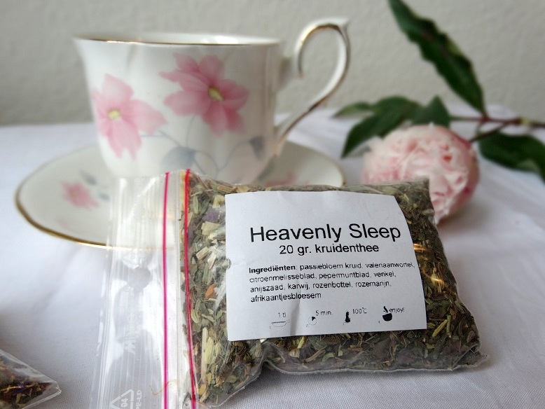 Heavenly Sleep Thee Evans & Watson tea review