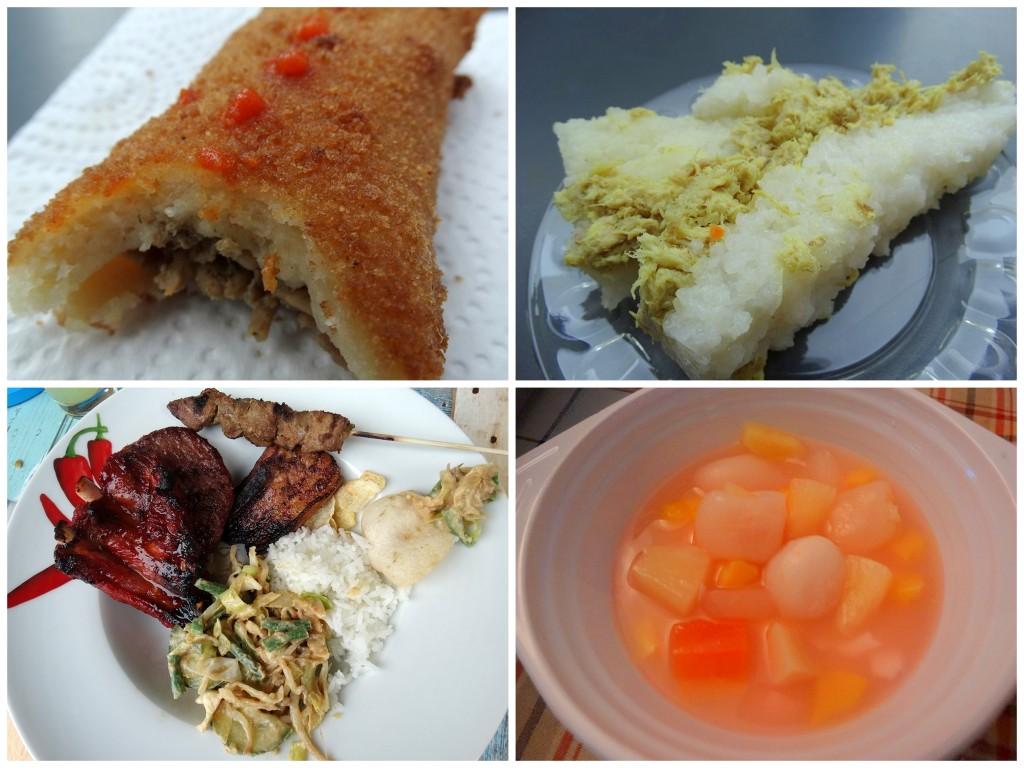 Indofood Risolles, lemper, Lotek, Ijsshanghai