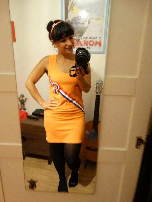 Oranje outfit WK2014