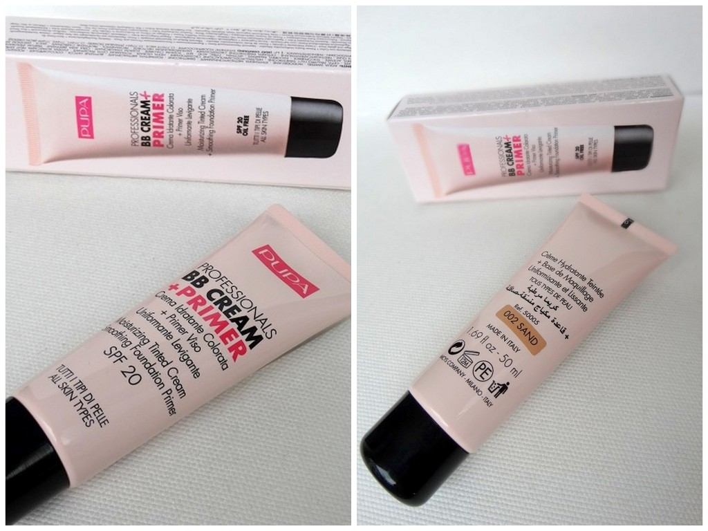 Pupa BB cream+primer review