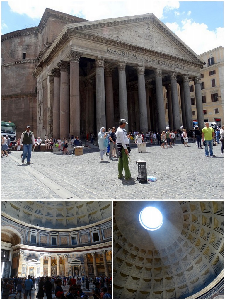 Rome Pantheon tip stedentrip travel plog