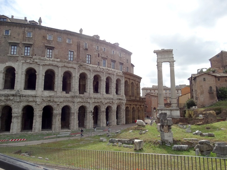 Rome Teatro di Marcello tips stedentrip