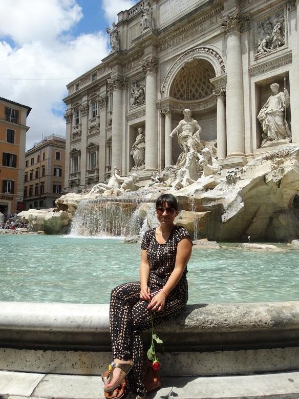 Rome Trevi Fontein Stedentrip travel tips plog