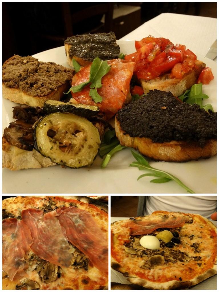 Rome stedentrip travel tip eten Italiaans Da Francesco plog