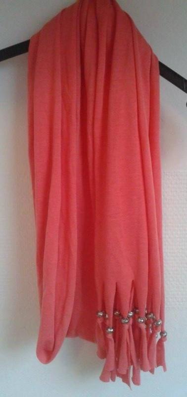 Simbolisme winactie Bloglovin peach fringe sjaal