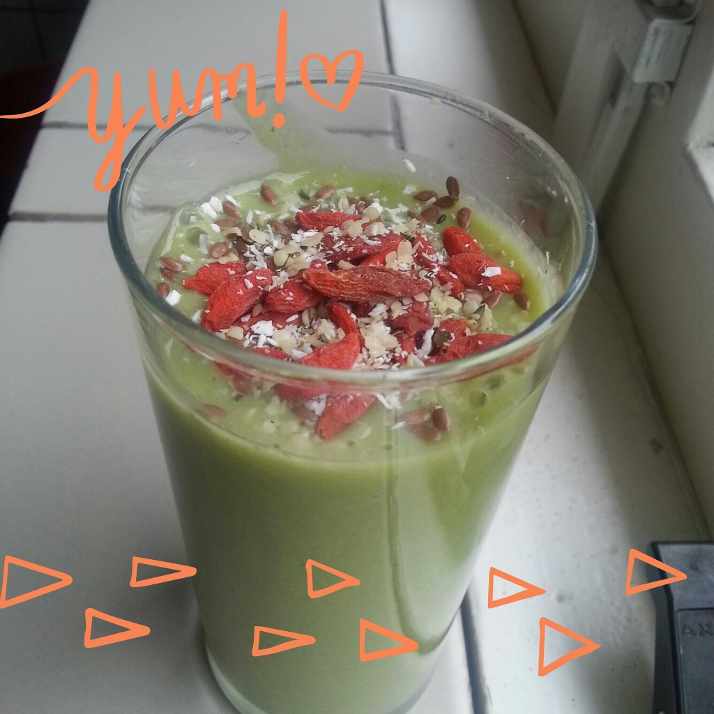 Spinazieshake met  superfood