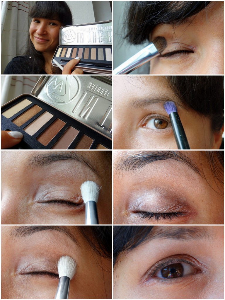 Tutorial ooglook W7 In The Buff nude look summer look simpel