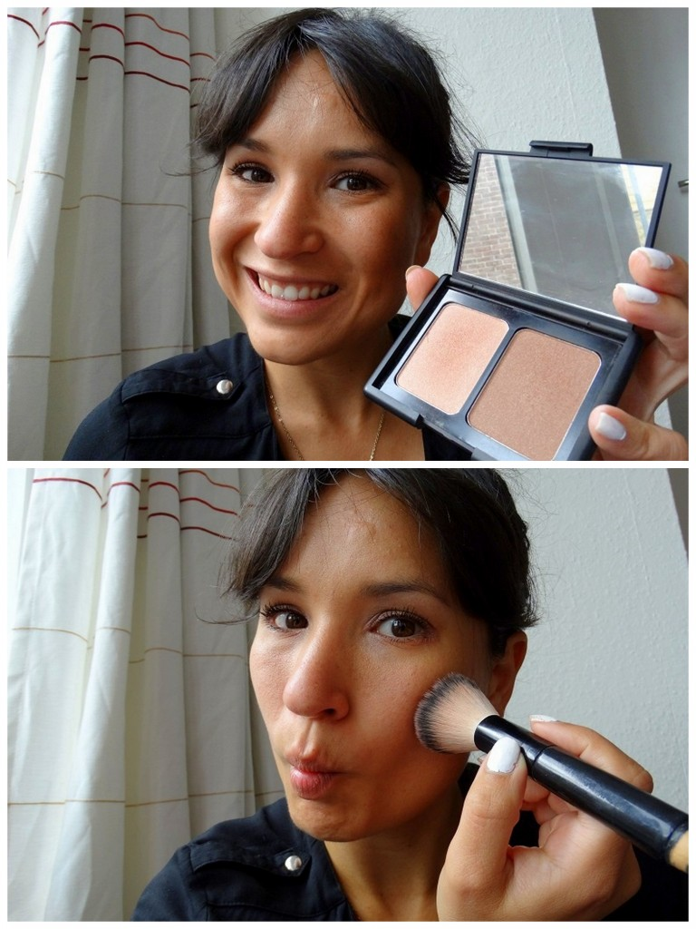 Zomer look  ELF contouring & blush tutorial