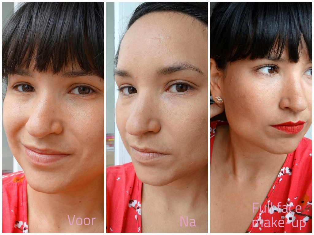 BB cream +Primer  Pupa Review effect