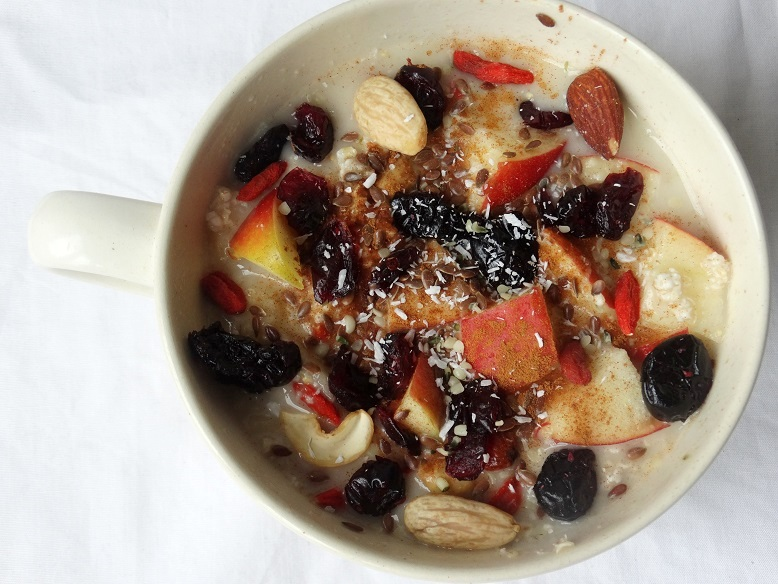 Havermout-superfood- fruit- lunch- healthy-food
