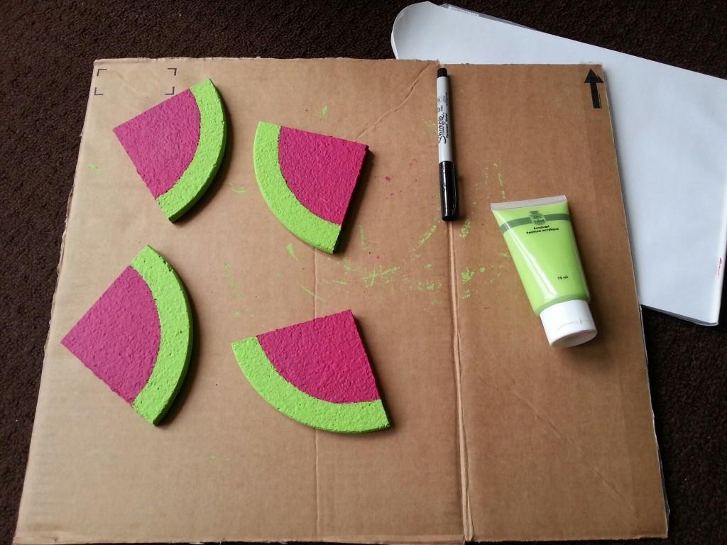 DIY-onderzetters-watermeloen
