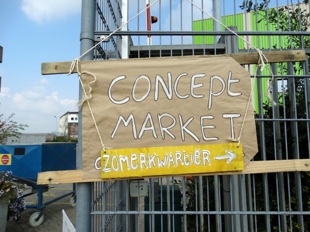 Hotspot -Nijmegen- Zomerkwartier-Concept- Market