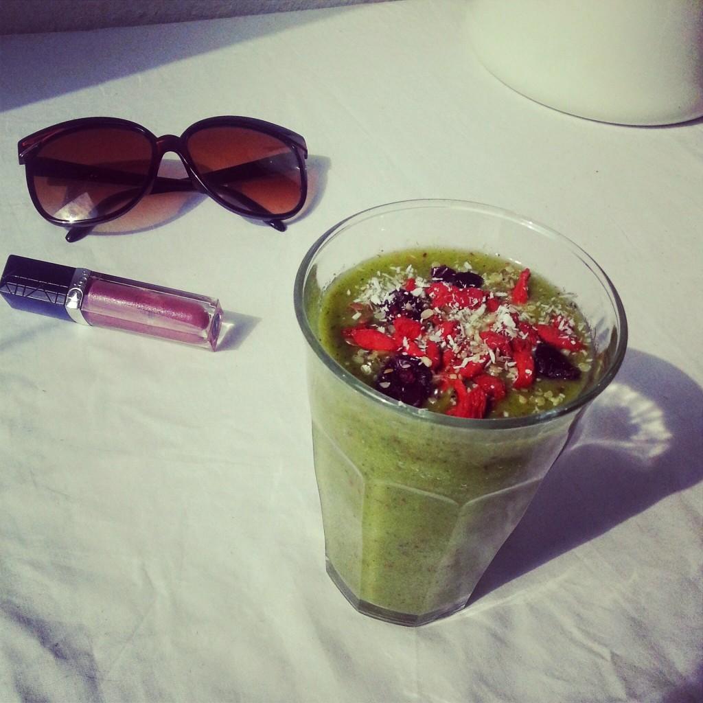 Lunch-groene-shake