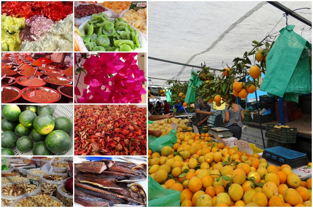 Markt- Mazarron-Spanje