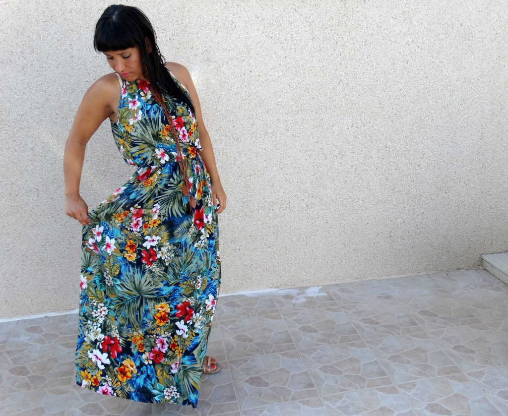 Maxidress-OOTD-bloemen